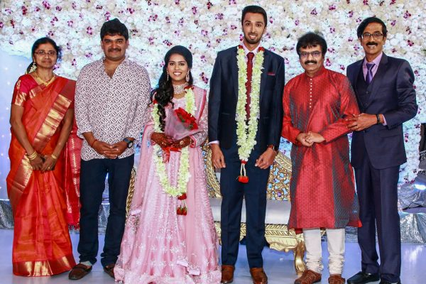 Vivek At Harish-Priya Wedding Reception