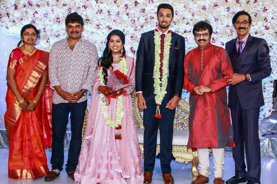 Vivek At Harish-Priya Wedding Reception
