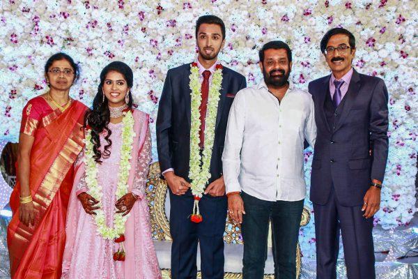Vasanth At Harish-Priya Wedding Reception