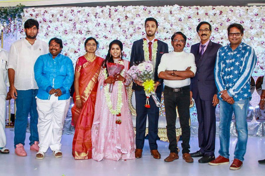 Bharathiraja At Harish-Priya Wedding Reception