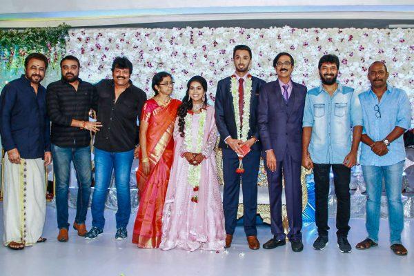 Shanthanu  At Harish-Priya Wedding Reception