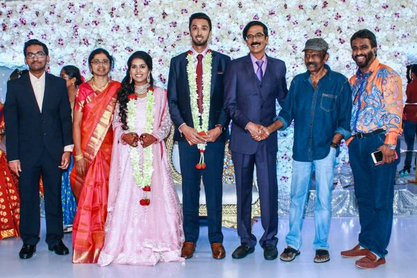 Goundamani At Harish-Priya Wedding Reception