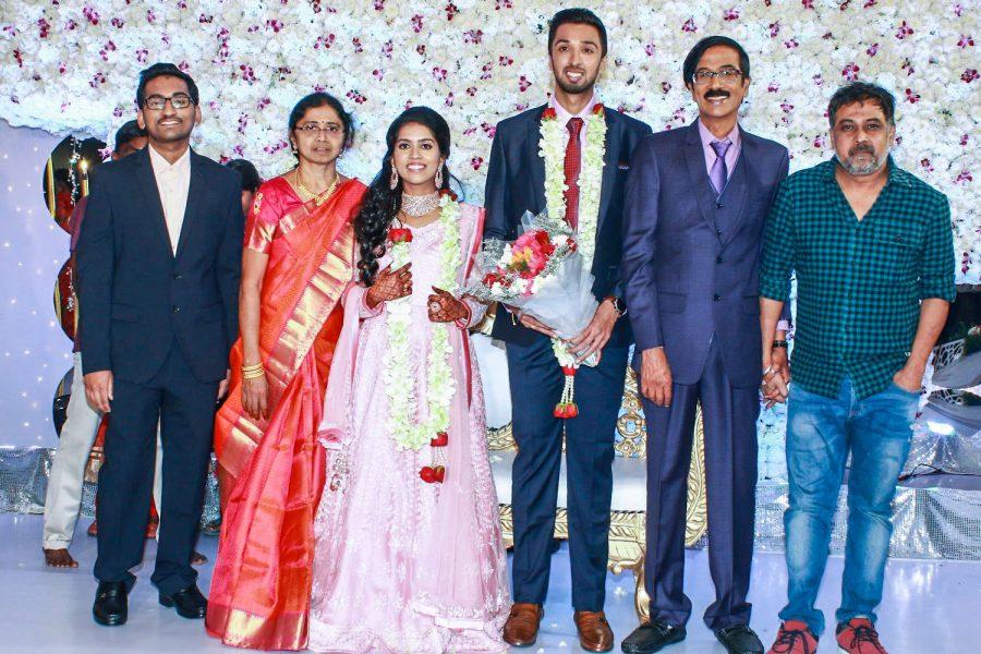 N Lingusamy At Harish-Priya Wedding Reception