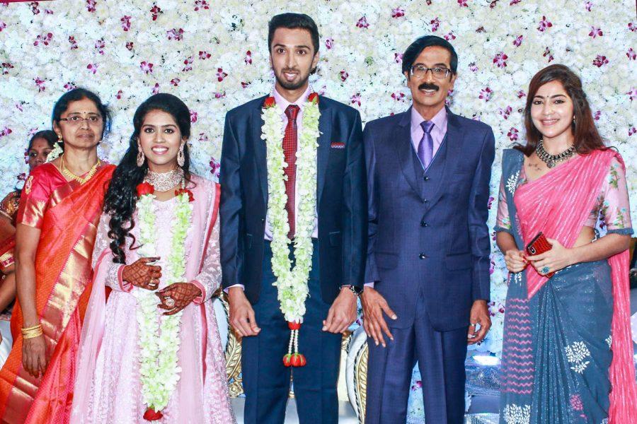 Anjali At Harish-Priya Wedding Reception