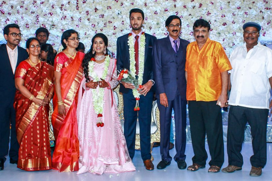 Ramesh Khanna At Harish-Priya Wedding Reception