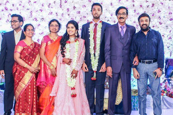 Mohan At Harish-Priya Wedding Reception