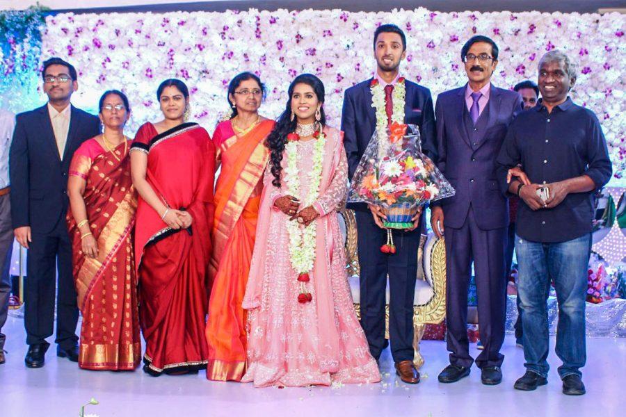 Celebrities At Harish-Priya Wedding Reception
