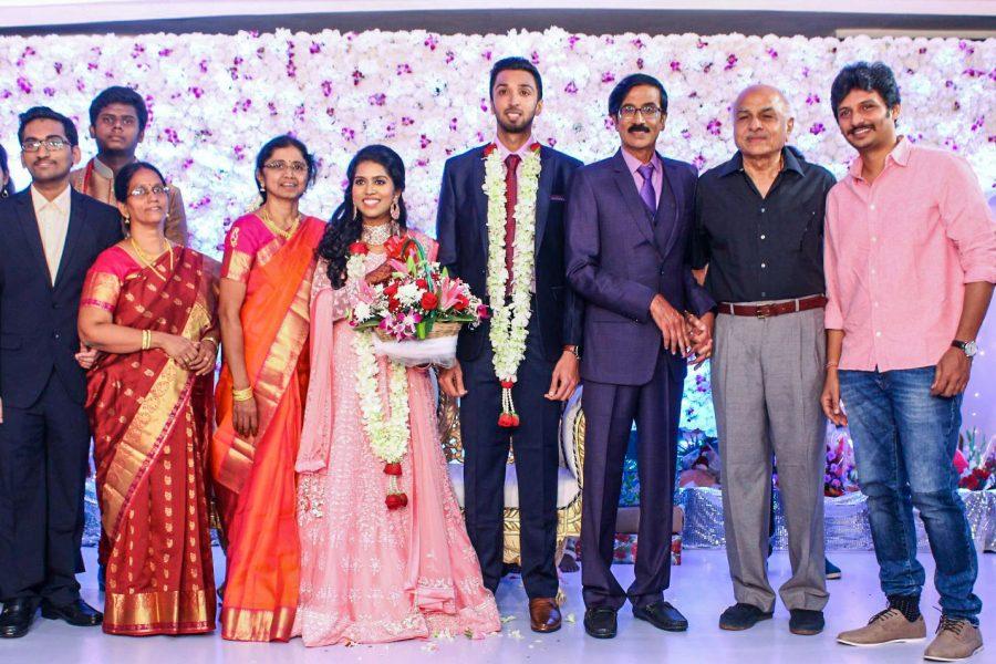Jiiva At Harish-Priya Wedding Reception