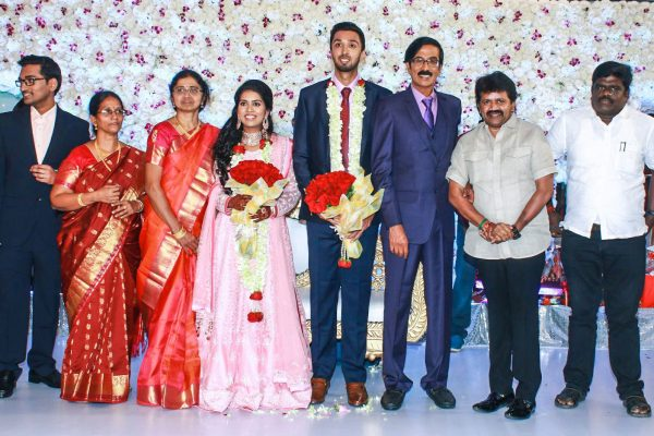 Celebrities At Harish-Priya Wedding Reception