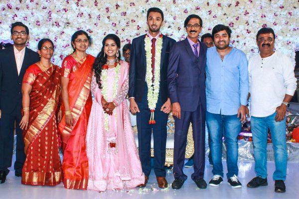 Shiva At Harish-Priya Wedding Reception