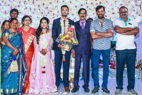 Natty At Harish-Priya Wedding Reception