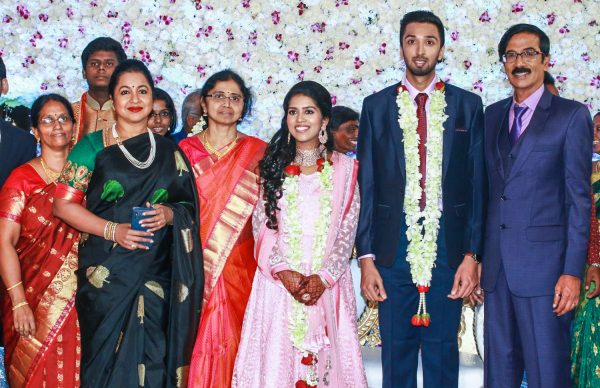 Radhika At Harish-Priya Wedding Reception