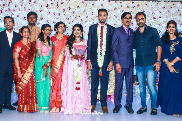 Prasanna At Harish-Priya Wedding Reception