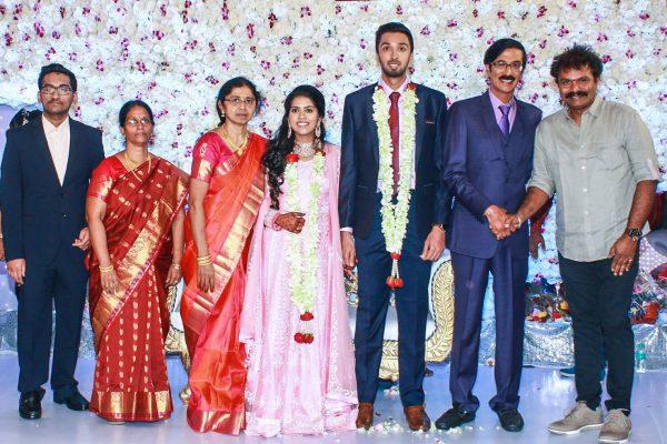 Hari At Harish-Priya Wedding Reception