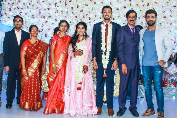 Arun Vijay At Harish-Priya Wedding Reception