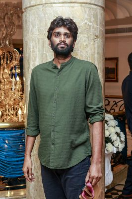 H Vinoth At Harish-Priya Wedding Reception