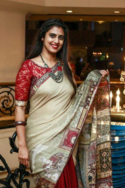 Kasthuri At Harish-Priya Wedding Reception