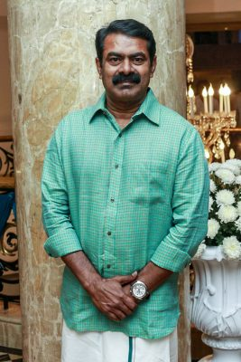 Seeman At Harish-Priya Wedding Reception