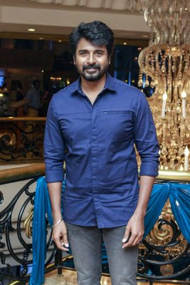 Sivakarthikeyan At Harish-Priya Wedding Reception