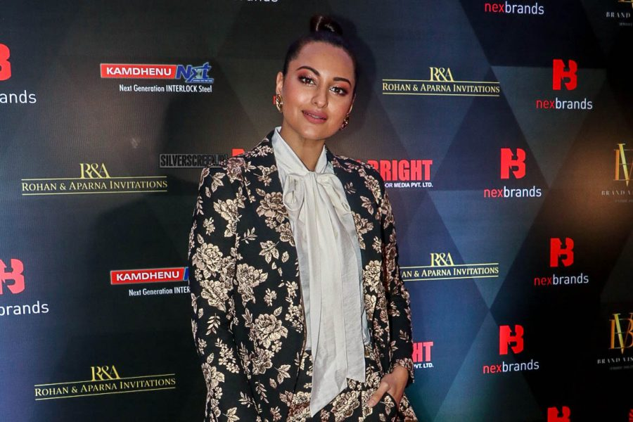 Sonakshi Sinha At The Annual Brand Vision Awards 2019