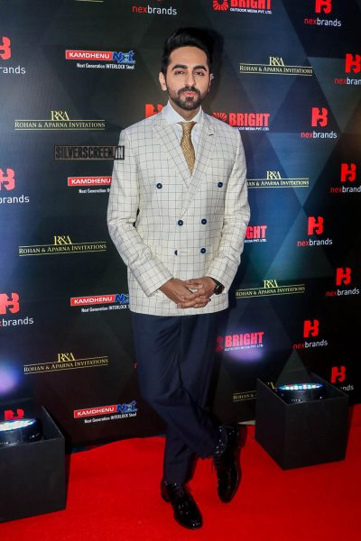 Ayushmann Khurrana At The Annual Brand Vision Awards 2019