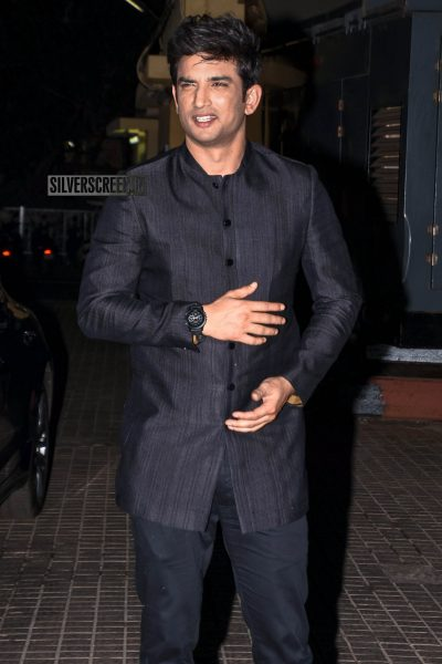 Sushant Singh Rajput At The 'Sonchiriya' Premiere