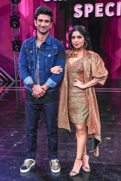 Sushant Singh Rajput, Bhumi Pednekar Promote 'Sonchiraiya' On The Sets Of Super Dancer Chapter 3