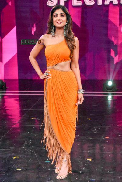 Shilpa Shetty Promotes 'Sonchiraiya' On The Sets Of Super Dancer Chapter 3