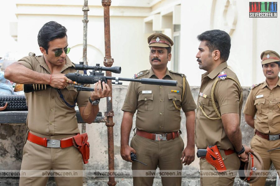 Tamilarasan Movie Stills Starring Sonu Sood, Vijay Antony