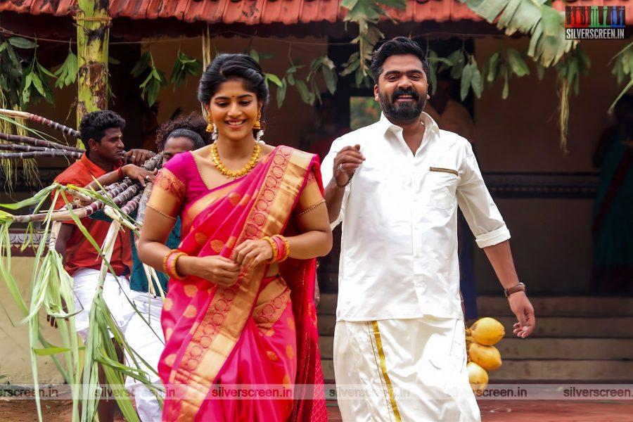 Vantha Rajavathaan Varuven Movie Stills Starring Silambarasan,  Megha Akash