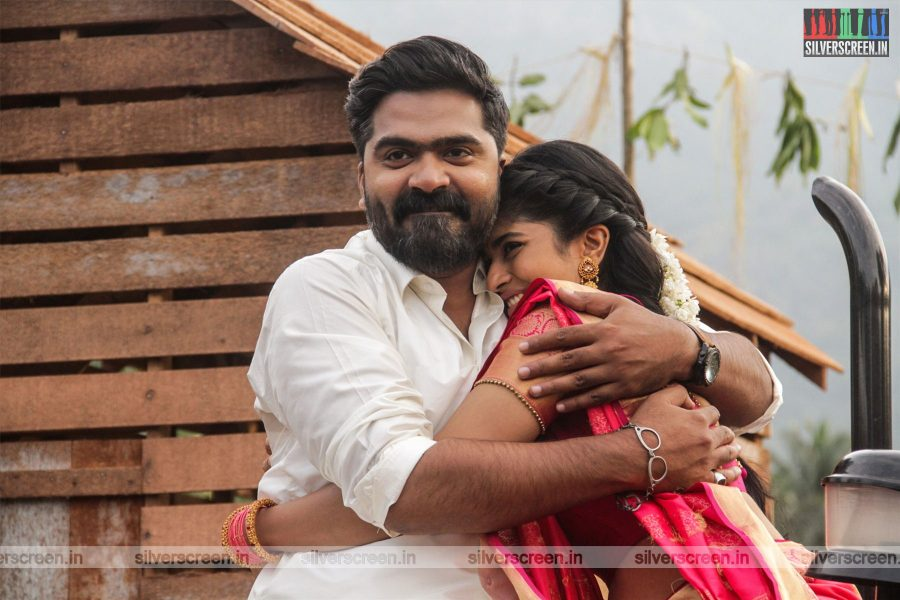 Vantha Rajavathaan Varuven Movie Stills Starring Silambarasan,  Megha Akash