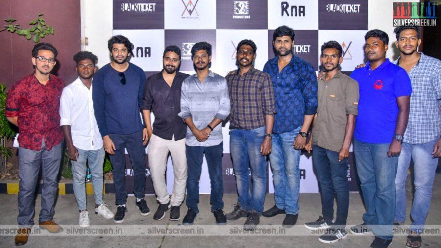 Venkat Prabhu At The 'Raa' Short Film Premiere