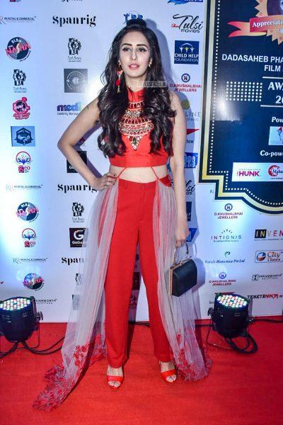 Celebrities At Dadasaheb Phalke International Film Festival Awards 2019