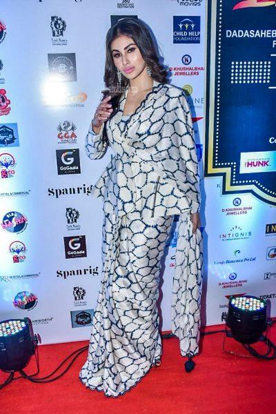Mouni Roy At Dadasaheb Phalke International Film Festival Awards 2019