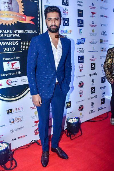 Vicky Kaushal At Dadasaheb Phalke International Film Festival Awards 2019