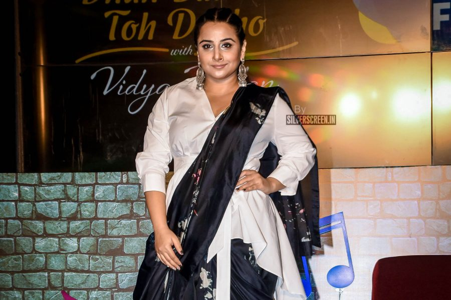 Vidya Balan At The Launch Of The 'Dhun Badal Ke Toh Dekho' Show