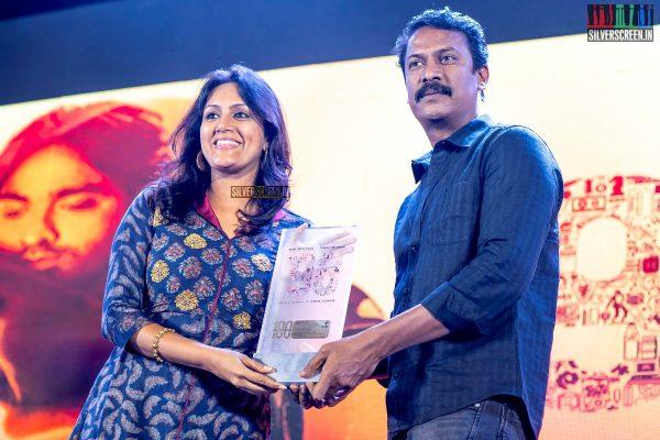 Devadarshini, Samuthirakani At The '96' Press Meet