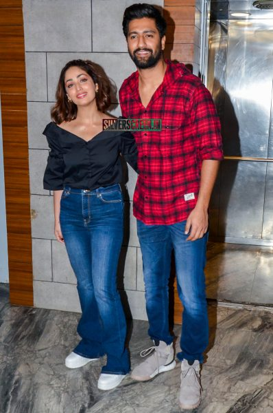Yami Gautam, Vicky Kaushal At The 'Uri' Success Meet