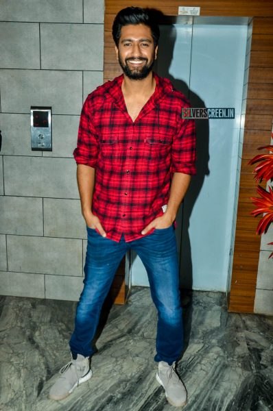 Vicky Kaushal At The 'Uri' Success Meet