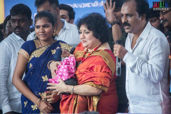 Latha Rajinikanth At The 100th Day Celebration of 'Petta'