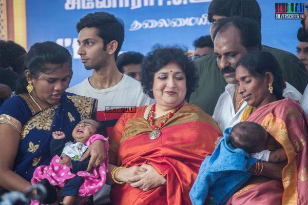 Latha Rajinikanth At The 50th Day Celebration of 'Petta'