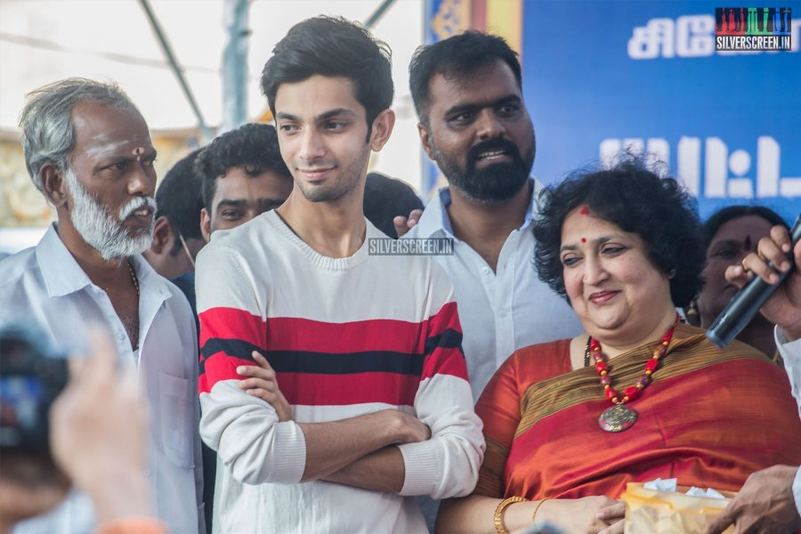 Anirudh Ravichander, Latha Rajinikanth At The 100th Day Celebration of 'Petta'