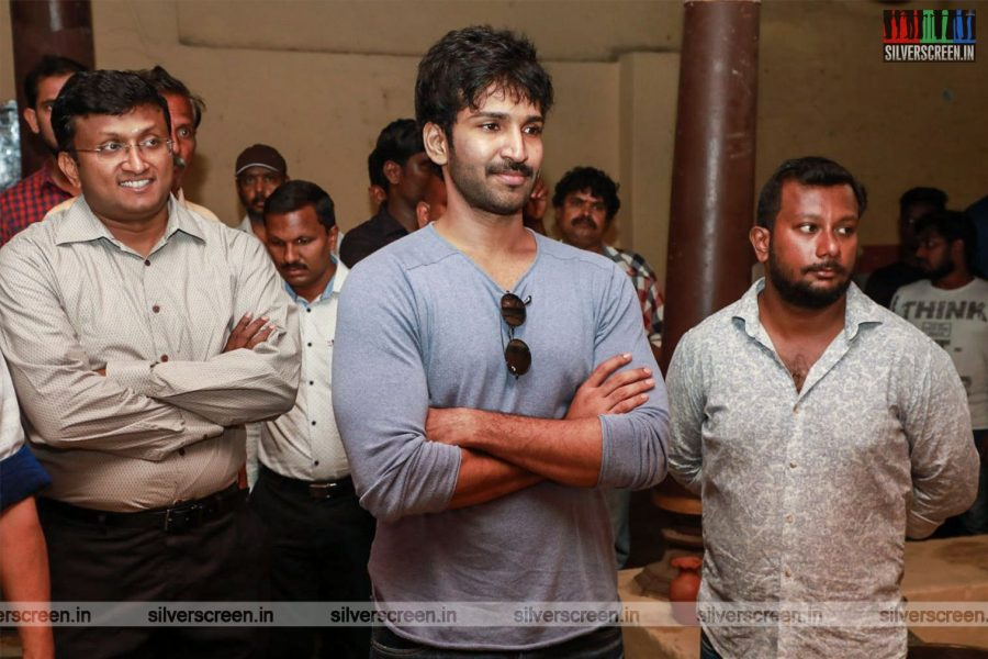 Aadhi, Palan Lalwani At The 'Partner' Movie Launch