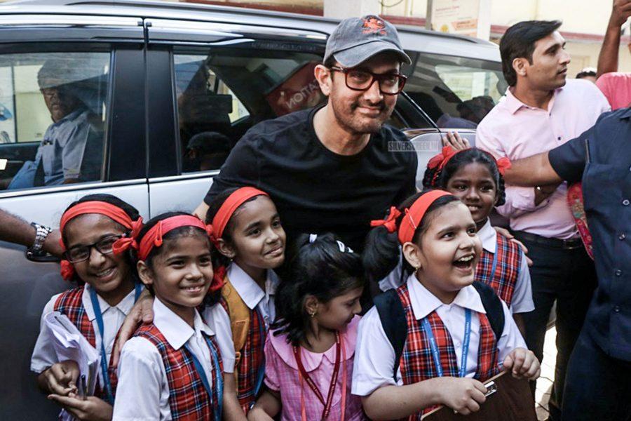 Aamir Khan At Nikhil Dhurandhar's 'Fat-Loss Diet' Book Launch