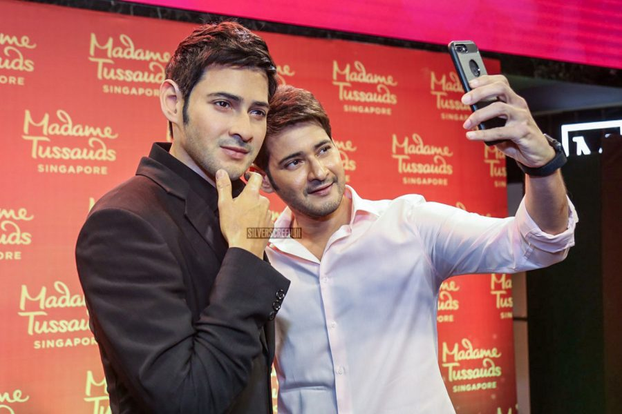 Actor Mahesh Babu Meets His Match At The Madame Tussaud's Wax Museum In Singapore
