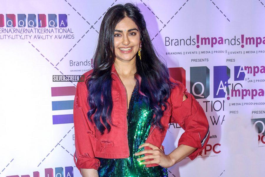 Adah Sharma At IQA Awards