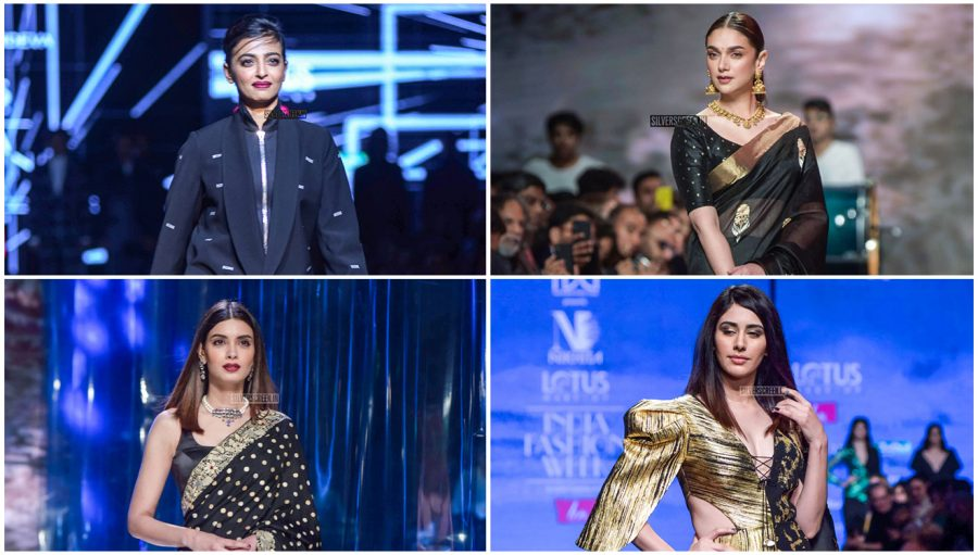 Aditi Rao Hydari, Radhika Apte Walk The Ramp At The 'Delhi Fashion Week 2019 – Day 4'