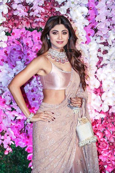 Shilpa Shetty At The Akash Ambani And Shloka Mehta Wedding Reception