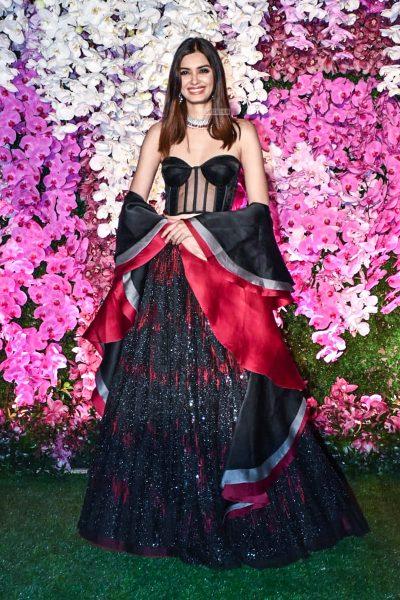 Diana Penty At The Akash Ambani And Shloka Mehta Wedding Reception