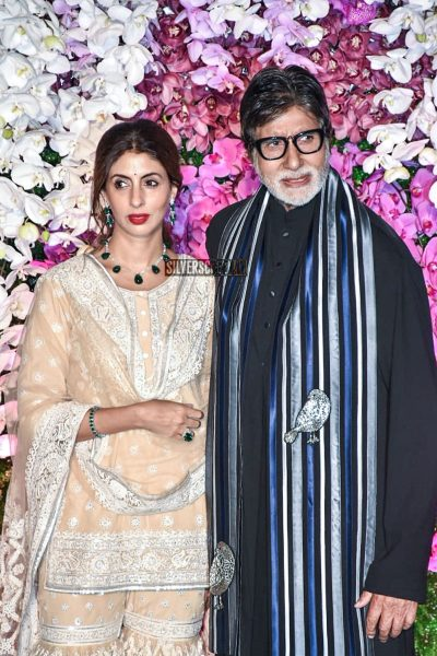 Amitabh Bachchan At The Akash Ambani And Shloka Mehta Wedding Reception